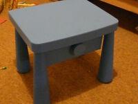 Children's little table.
