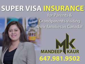 Super visa/ Visitor Medical Insurance