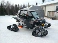 2014 RZR XP 1000 W/ CAB & TRACKS