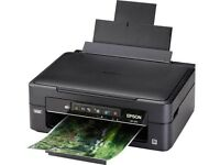 EPSON EXPRESSION 3-in-1 HOME COLOUR INK-JET XP-225 printer with paper!