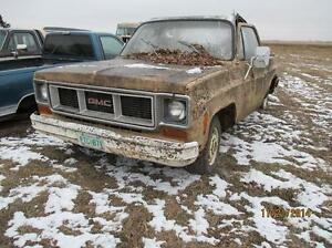 parting 73 chevy pickup