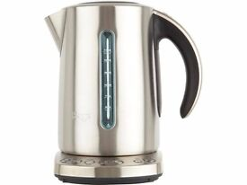 Brand New Sage By Heston Blumenthal The Smart Kettle with Temperature Selector - Stainless Steel