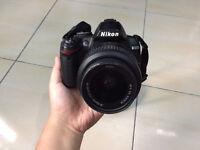 Hardly used Nikon D3000 digital camera