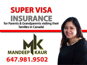 Visitor and Super Visa Insurance best quotes