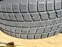 4 tires ONLY  4 x 255/55/18 TOYO observe Gs i5 WINTER tires %99