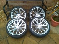 19 alloy wheels