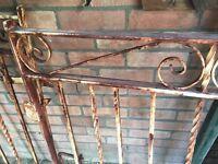 1950's Wrought Iron Gates