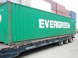 Shipping Containers For Storage SEA CANS FOR SALE Kitchener / Waterloo Kitchener Area image 1
