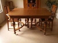 Late 19th or early 20th century dining set from Knechtel