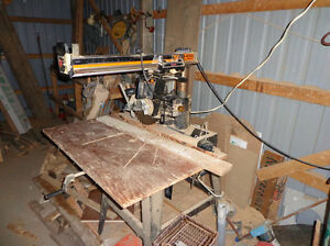 how to use a ryobi radial arm saw