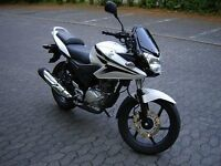 Honda CBF125 in very good condition.