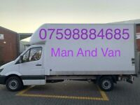 Man and van service, house removal, house clearance, junk rubbish collection, furniture disposal