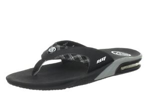 Reef Mens Fanning Print Sandals flip flops bottle opener 8-15 NEW