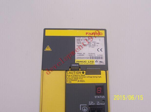 Used Fanuc Servo Amplifier A06b-6110-h015 Tested