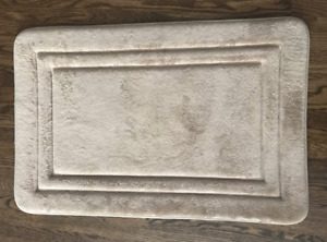 LIKE NEW MEMORY FOAM BATHMAT IN EXCELLENT CONDITION!!