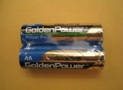100 Pcs Pack AA Alkaline Batteries Battery 1.5V Fresh Lot -