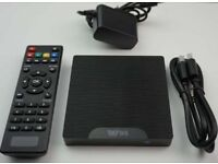 Android tv box brand new only £50