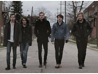 4 X The Maine Tickets Bristol Thekla 14th Sept