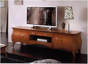 MOBILE PORTA TV BASSO CLASSICO BOMBATO SOGGIORNO  eBay