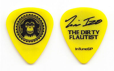 Black Eyed Peas Tim Izo Signature Yellow Guitar Pick - 2006 Monkey Business Tour