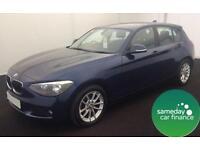 ONLY £243.41 PER MONTH BLUE 2013 BMW 116D 2.0 SE STEP 4 DOOR DIESEL AUTO
