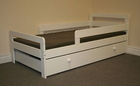 Ellis toddler bed with draw from Argos.