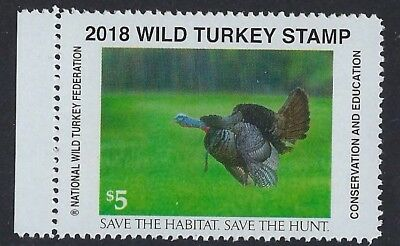 2018 National Wild Turkey Federation Stamp