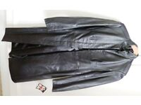 ARM's Ladies Long Leather Jacket - BRAND NEW