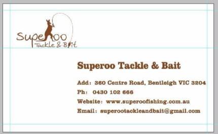Superoo Tackle & Bait NEW ARRIVALS Bentleigh Glen Eira Area Preview