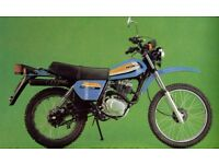 WANTED HONDA XL125 s OR XL185 s RIGHT HAND SIDE PANEL - GOOD PRICE PAID