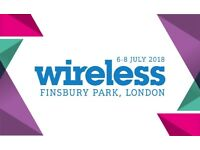 2x Wireless Tickets (Friday 6th July)