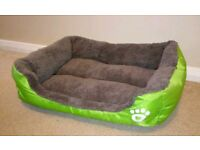 Small Green Pet Bed