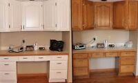 Refinish your kitchen&bath cabinetry for less than you think