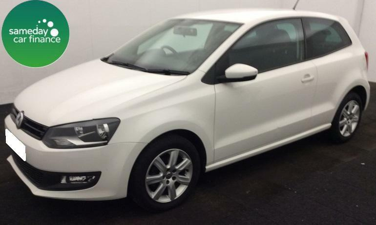 £131.21 PER MONTH WHITE 2012 VOLKSWAGEN POLO 1.2 MATCH 3 DOOR PETROL MANUAL