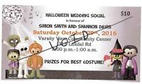 Let us Advertise for you! Wedding Social Donations Appreciated