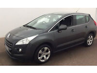£183.21 PER MONTH PEUGEOT 3008 1.6 HDi 115 ACTIVE MPV DIESEL MANUAL