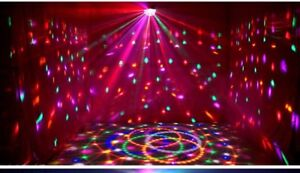 Big disco lamp Sound Activated ( brand new)