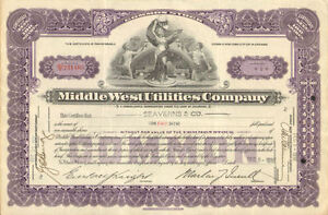 Middle-West-Utilities-Company-1930s-power-stock-certificate-share