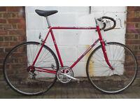 Vintage road racing bike PEUGEOT frame 22inch - serviced - Welcome for test ride