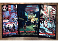 Blade Runner Matching #Set Alternative Movie Posters Tim Doyle S//N //200 NT Mondo