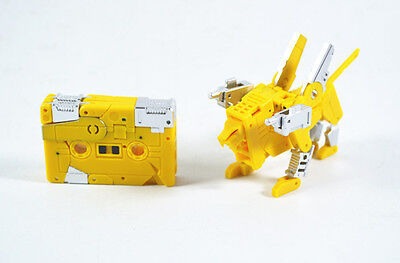 Transformers KFC CST-02J Justice Iron Paw Masterpiece Cassette Steeljaw new