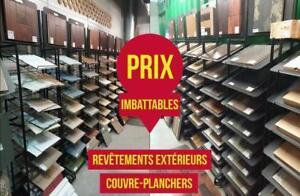 Plancher vinyle, flottant, céramique, bois-francs GRANDE LIQUIDATION