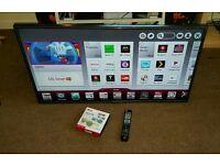 Lg 47 inch super slim led smart 3D cinema WiFi tv