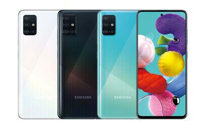"""(USED) Samsung Galaxy A51 (SM-A515F/DSN) 6GB 128GB GSM 6.5"""" Dual SIM UNLOCKED"""