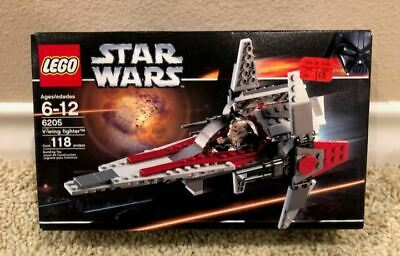 LEGO STAR WARS V-WING FIGHTER SET #6205 118 PIECES (NEW/SEALED)
