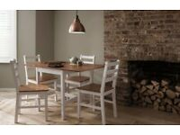 Fabulous Dining Table with 4 Chairs