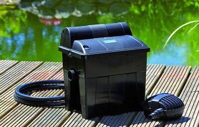 OASE BioSmart Set 5000 Teichfilter mit Filterpumpe 1500 und UVC - Komplettset