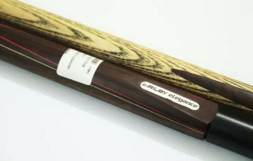Hand Made Brand New Snooker cue 3 piece Riley Elegance 57 inch with 6 inch Ext
