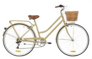 Ladies Vintage Bike - Coffee