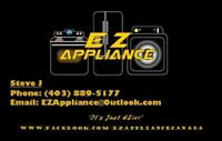 EZ APPLIANCE BUY SELL INSTALL REPAIR REMOVE TRANSPORT 4038895177